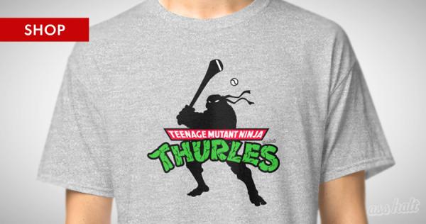 The Teenage Mutant Ninja Thurles T-Shirt